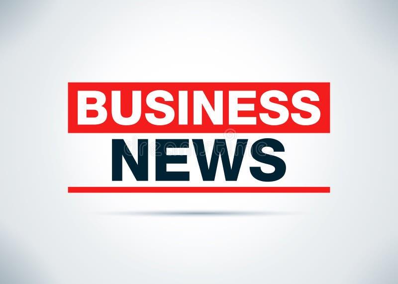 Οι επιχειρησιακές ειδήσεις αφαιρούν την επίπεδη απεικόνιση σχεδίου υποβάθρου απεικόνιση αποθεμάτων