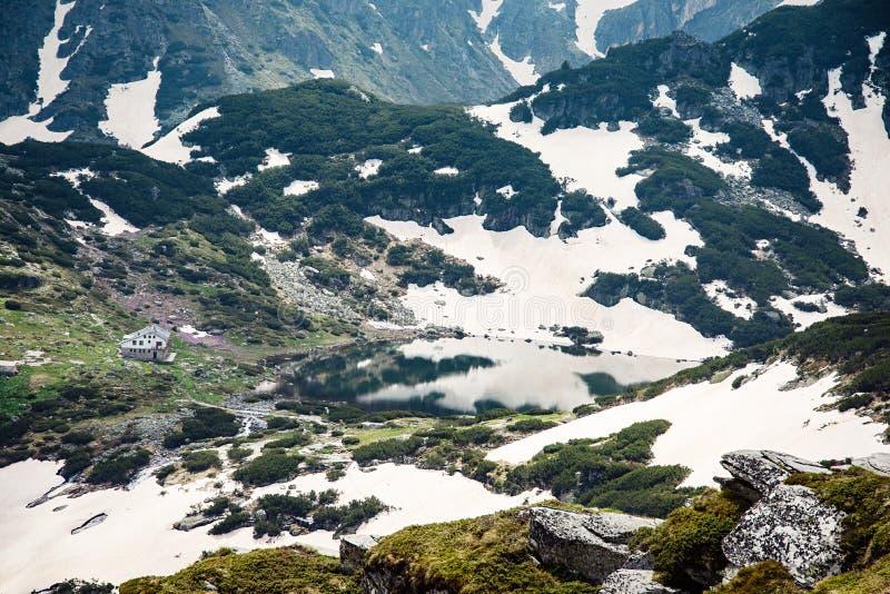 Οι επτά λίμνες Rila, βουνό Rila, Βουλγαρία στοκ εικόνες με δικαίωμα ελεύθερης χρήσης