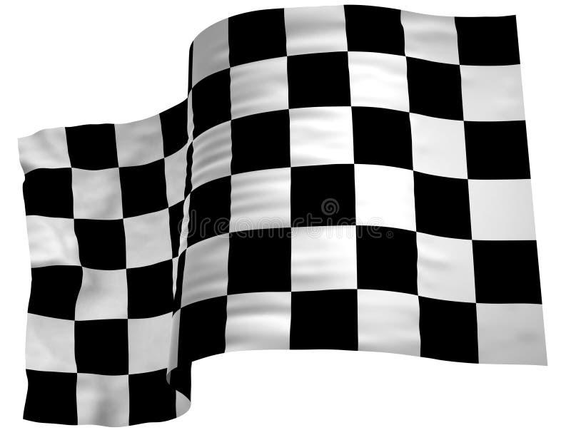 Οι ελεγκτές σημαιών τελειώνουν στοκ εικόνες με δικαίωμα ελεύθερης χρήσης
