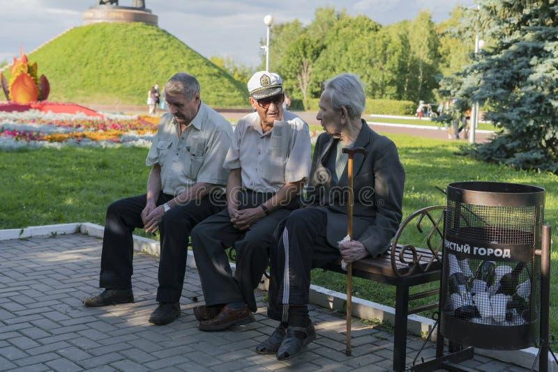 Οι ηλικιωμένοι στοκ φωτογραφία