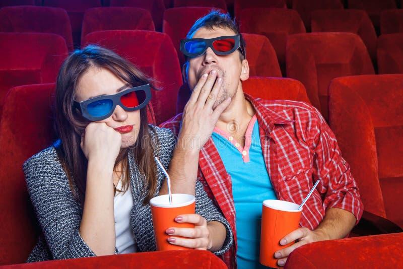 Οι θεατές στον κινηματογράφο στοκ φωτογραφίες με δικαίωμα ελεύθερης χρήσης