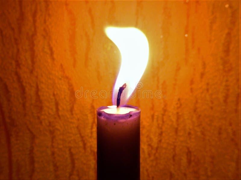 Οι θερμοί τόνοι από το κερί στοκ εικόνες