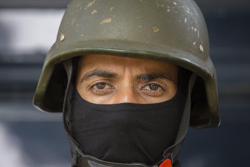 Οι Ινδοί στρατιώτες συμμετέχουν στις δραστηριότητες πρόβας για την επερχόμενη παρέλαση ημέρας Δημοκρατίας της Ινδίας Δελχί Ινδία  στοκ εικόνες με δικαίωμα ελεύθερης χρήσης