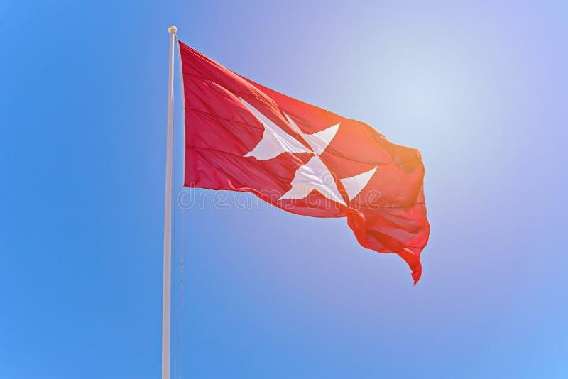 Οι ιππότες της Μάλτας είναι ο οκτώ-δειγμένος σταυρός στοκ εικόνα με δικαίωμα ελεύθερης χρήσης