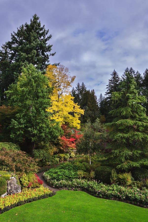 Οι κήποι στο Νησί Βανκούβερ στοκ εικόνα με δικαίωμα ελεύθερης χρήσης