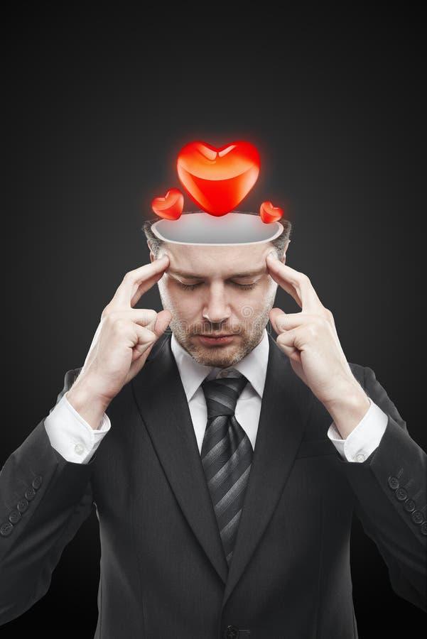 οι καρδιές μέσα στο άτομο & στοκ εικόνα
