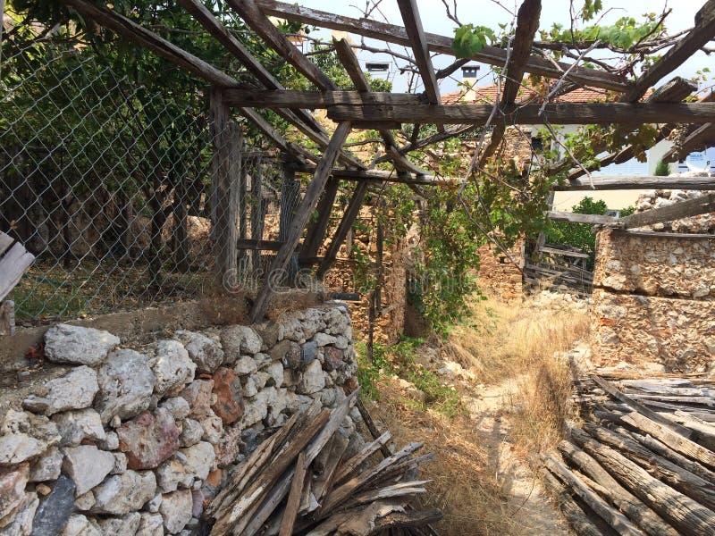 Οι καταστροφές ενός αρχαίου φρουρίου στοκ φωτογραφία με δικαίωμα ελεύθερης χρήσης