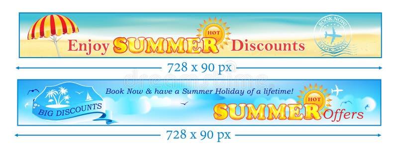 Οι καλοκαιρινές διακοπές - βιβλίο τώρα και κερδίζουν χρήματα διανυσματική απεικόνιση