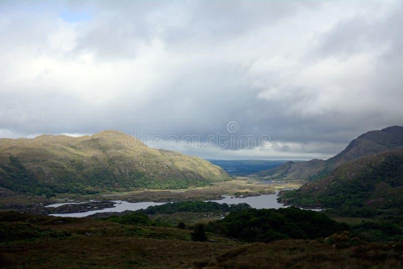 Οι κυρίες βλέπουν, εθνικό πάρκο Killarney, Ιρλανδία στοκ φωτογραφίες με δικαίωμα ελεύθερης χρήσης