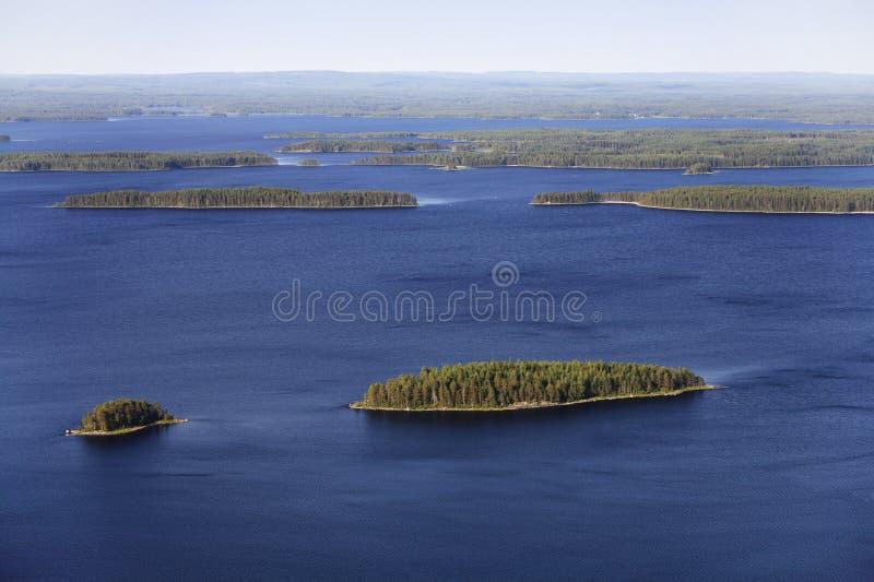 οι λίμνες προσγειώνοντα&i στοκ εικόνα με δικαίωμα ελεύθερης χρήσης