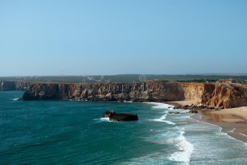 Οι μακριές παραλίες του Ατλαντικού Ωκεανού στοκ φωτογραφία