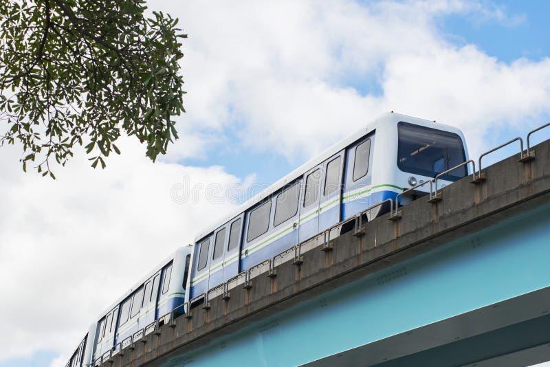 Οι μεταφορές στην αστική πόλη στοκ φωτογραφία με δικαίωμα ελεύθερης χρήσης