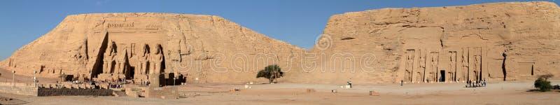 Οι ναοί Abu Simbel στην Αίγυπτο στοκ φωτογραφία με δικαίωμα ελεύθερης χρήσης