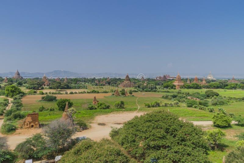 Οι ναοί Bagan στοκ εικόνες