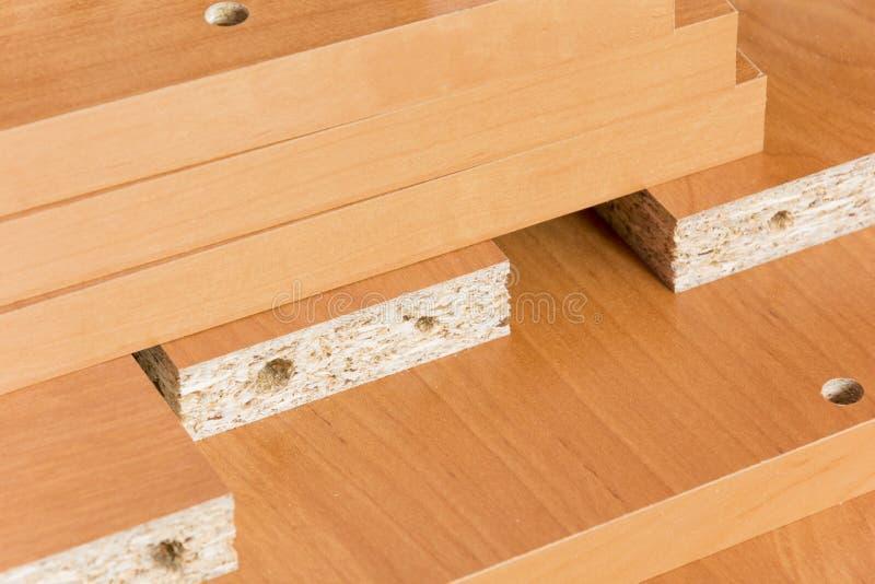 Οι ξύλινοι πίνακες στο πάτωμα στοκ φωτογραφία