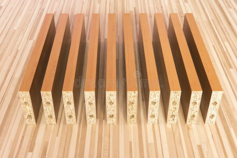 Οι ξύλινοι πίνακες στο πάτωμα στοκ φωτογραφίες