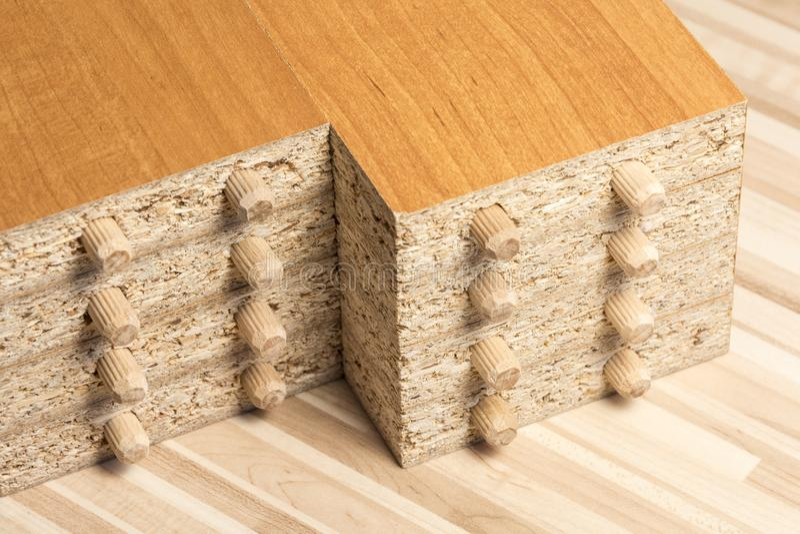 Οι ξύλινοι πίνακες στο πάτωμα στοκ φωτογραφία με δικαίωμα ελεύθερης χρήσης