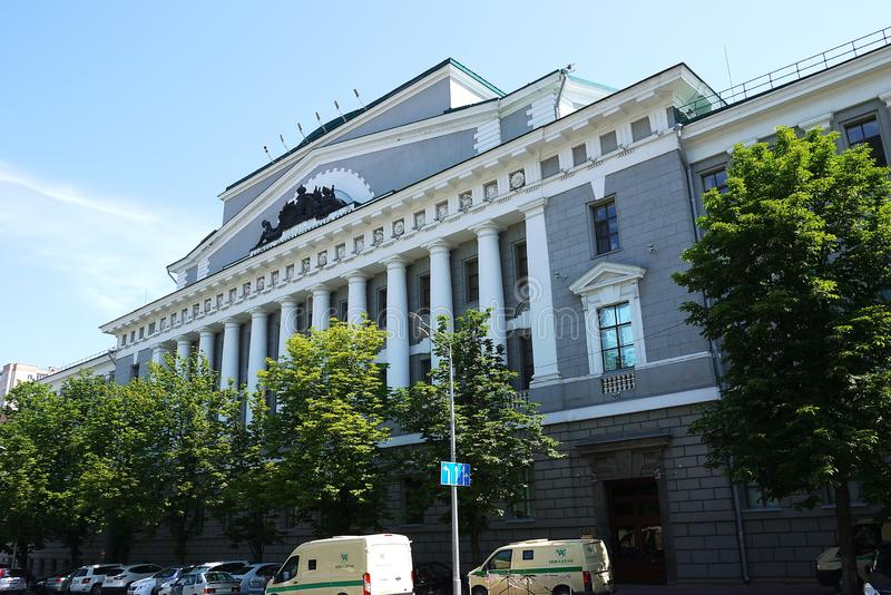 Οι οδοί και η αρχιτεκτονική Ροστόφ--φορούν r στοκ φωτογραφία με δικαίωμα ελεύθερης χρήσης