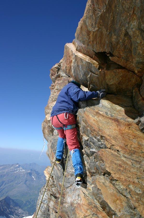 οι ορειβάτες λικνίζουν στοκ φωτογραφίες