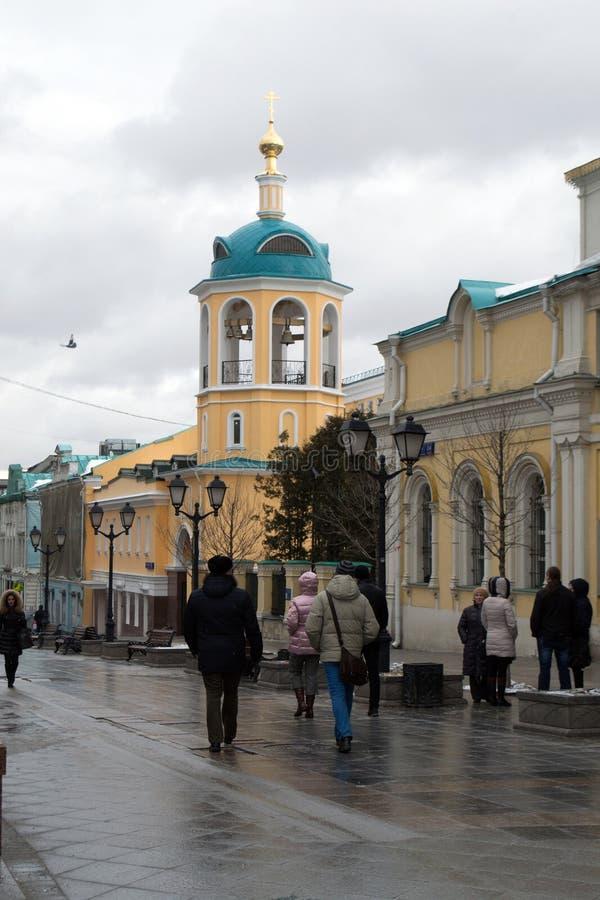 Οι οδοί της Μόσχας στοκ φωτογραφία