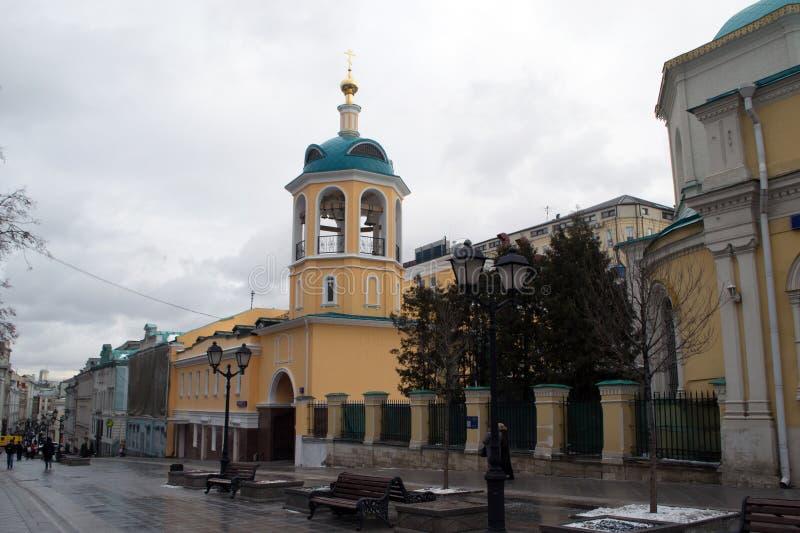 Οι οδοί της Μόσχας στοκ εικόνες
