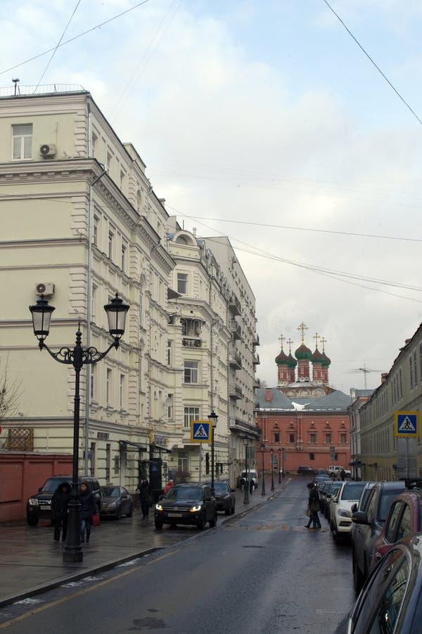 Οι οδοί της Μόσχας στοκ φωτογραφίες