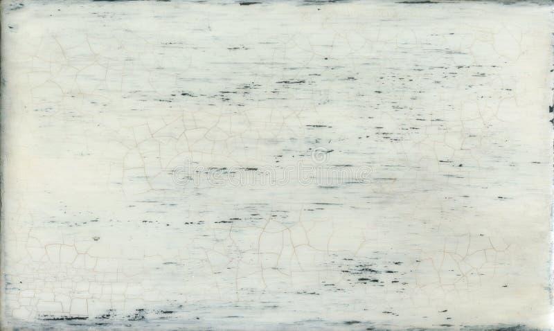 Οι παλαιές ξύλινες σανίδες χρωμάτισαν το λευκό στοκ φωτογραφίες με δικαίωμα ελεύθερης χρήσης