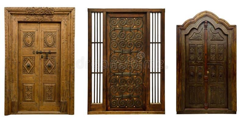 Οι παλαιές πόρτες θέτουν 5 στοκ φωτογραφία με δικαίωμα ελεύθερης χρήσης