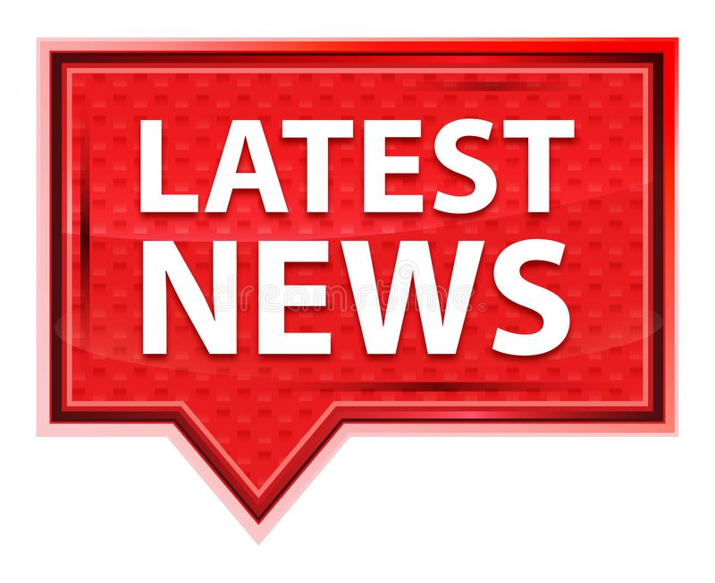 Οι πιό πρόσφατες ειδήσεις misty αυξήθηκαν ρόδινο κουμπί εμβλημάτων απεικόνιση αποθεμάτων