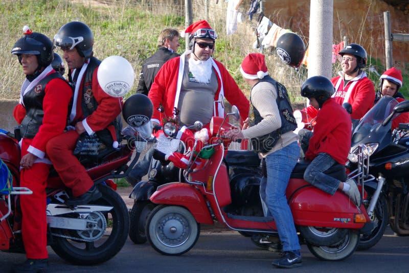 οι ποδηλάτες παρελαύνο&up στοκ εικόνα με δικαίωμα ελεύθερης χρήσης