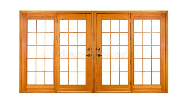 οι πόρτες γαλλικά ψαλιδί& στοκ φωτογραφία