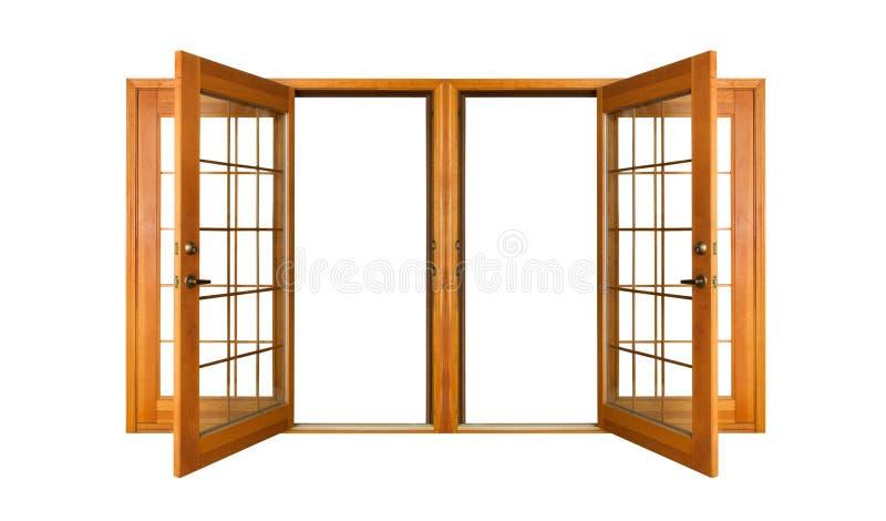 οι πόρτες γαλλικά ψαλιδί& στοκ εικόνες με δικαίωμα ελεύθερης χρήσης