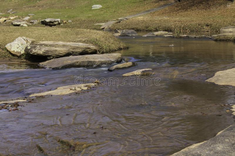 Οι ρυτίδες στο νερό στοκ φωτογραφίες