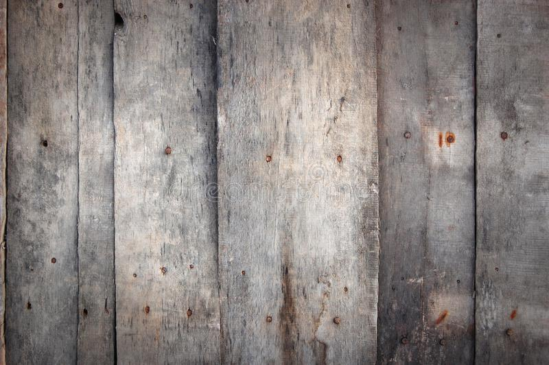 οι σανίδες ξεπέρασαν ξύλινο στοκ εικόνα