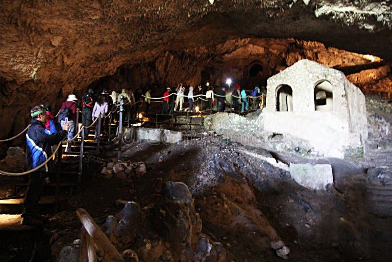 Οι τουρίστες στο olevano ανασκάπτουν στοκ φωτογραφίες με δικαίωμα ελεύθερης χρήσης