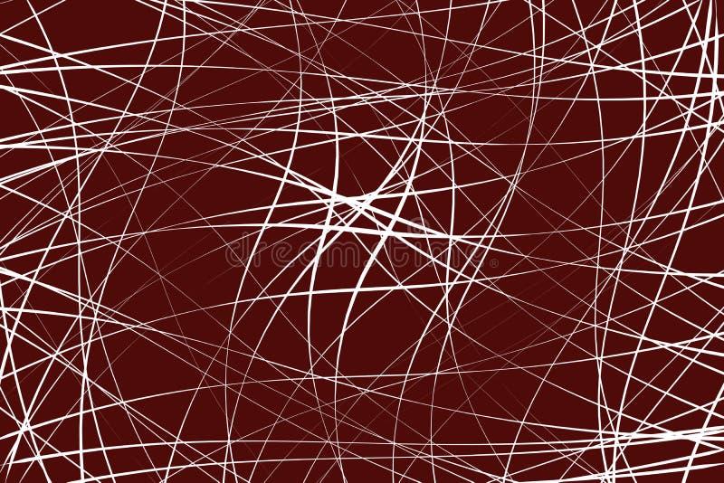 Οι τυχαίες χαοτικές γραμμές αφαιρούν το γεωμετρικές σχέδιο/τη σύσταση moder απεικόνιση αποθεμάτων