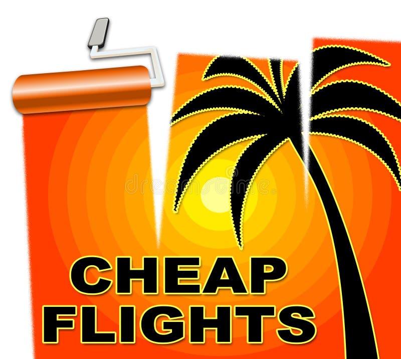 Οι φτηνές πτήσεις αντιπροσωπεύουν το χαμηλότερο κόστος και τον αέρα απεικόνιση αποθεμάτων