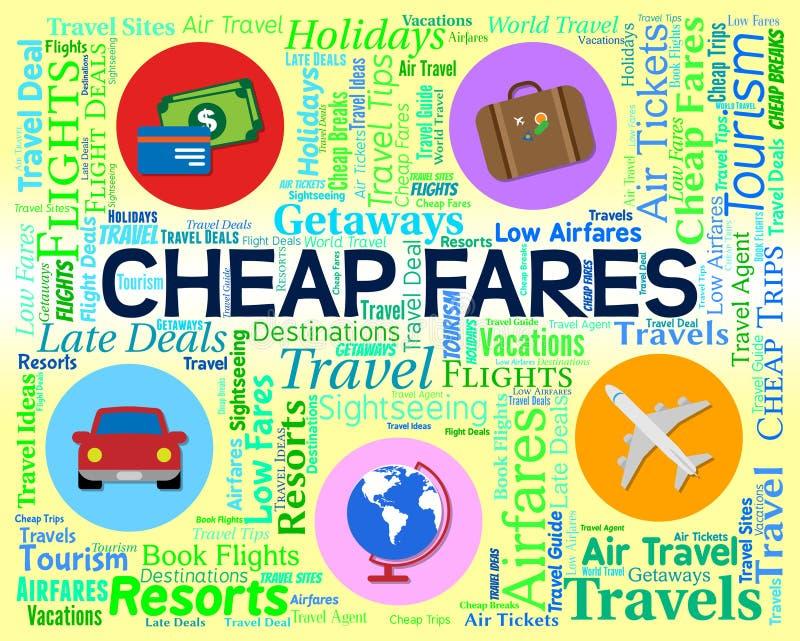 Οι φτηνές τιμές αντιπροσωπεύουν την έκπτωση και την προσφορά πώλησης διανυσματική απεικόνιση