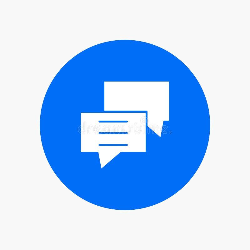 Οι φυσαλίδες, συνομιλία, πελάτης, συζητούν, ομαδοποιούν ελεύθερη απεικόνιση δικαιώματος