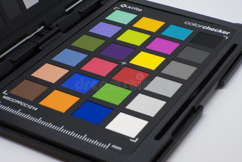 Οι φωτογράφοι χρωματίζουν το διάγραμμα ελεγκτών στοκ εικόνες με δικαίωμα ελεύθερης χρήσης