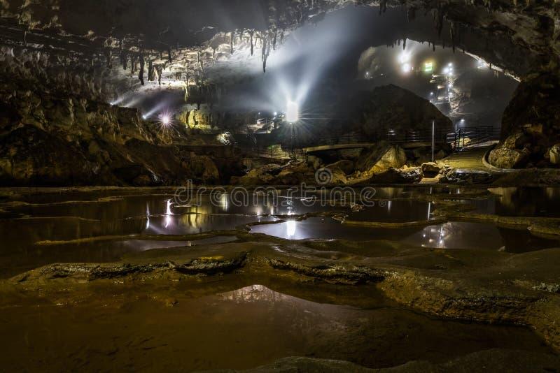 Οι χίλιοι τομείς ρυζιού της σπηλιάς Akiyoshi στοκ φωτογραφίες
