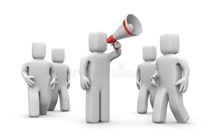 οι χρήστες προσοχής σύρο&u ελεύθερη απεικόνιση δικαιώματος