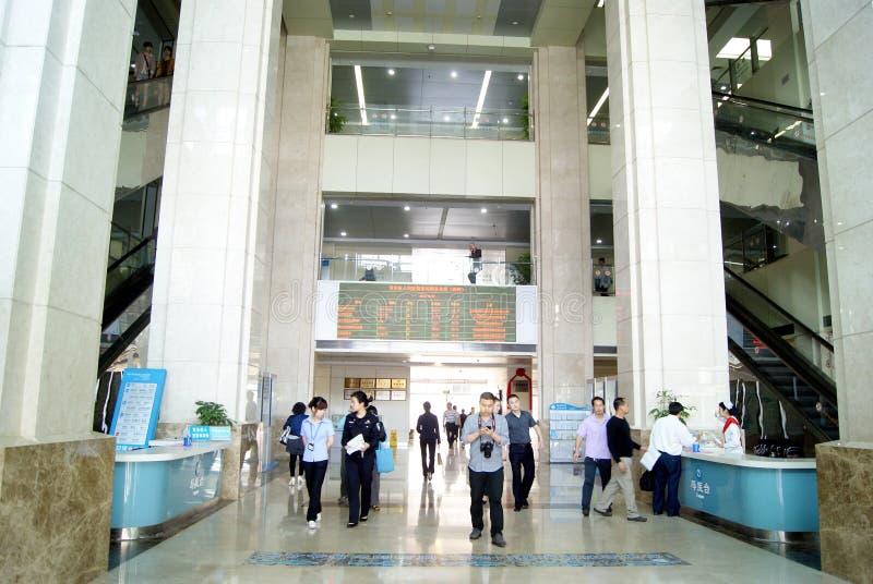 οι baoan άνθρωποι s νοσοκομείων στοκ εικόνα με δικαίωμα ελεύθερης χρήσης