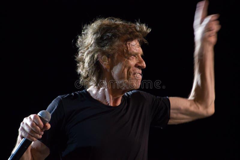 Οι Rolling Stones στην Κούβα στοκ εικόνες