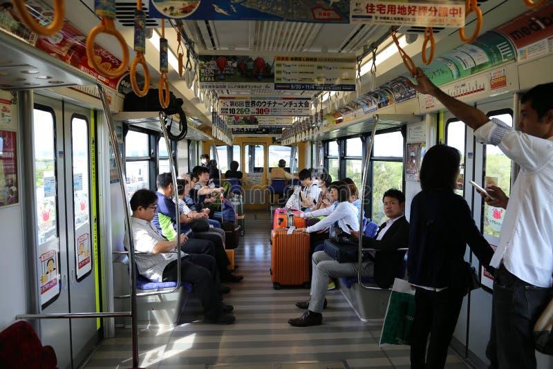 ΟΚΙΝΆΟΥΑ - 8 ΟΚΤΩΒΡΊΟΥ: Μονοτρόχιος σιδηρόδρομος στη Οκινάουα, Ιαπωνία στις 8 Οκτωβρίου 2016 στοκ φωτογραφία
