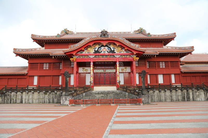 ΟΚΙΝΆΟΥΑ - 8 ΟΚΤΩΒΡΊΟΥ: Shuri Castle στη Οκινάουα, Ιαπωνία στις 8 Οκτωβρίου 2016 στοκ φωτογραφία με δικαίωμα ελεύθερης χρήσης