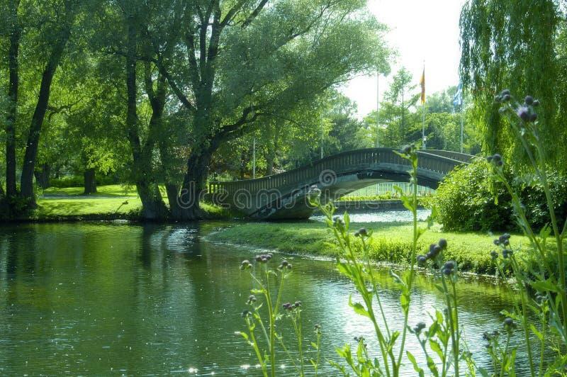 οκνηρός ποταμός στοκ φωτογραφία