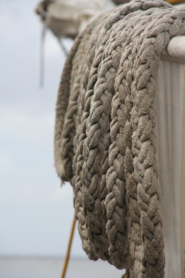 οκνηρό σχοινί στοκ φωτογραφία με δικαίωμα ελεύθερης χρήσης