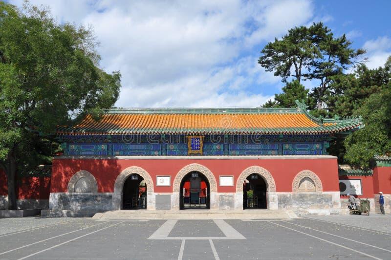Οκτώ εξωτερικοί ναοί Chengde στοκ φωτογραφία με δικαίωμα ελεύθερης χρήσης