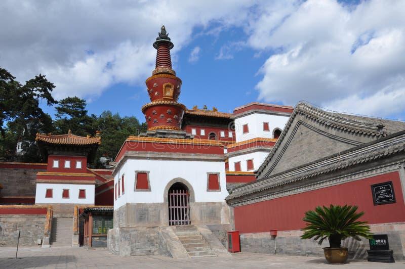 Οκτώ εξωτερικοί ναοί Chengde στοκ εικόνες με δικαίωμα ελεύθερης χρήσης